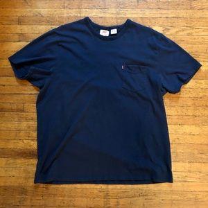 Levi's Pocket T-Shirt, XXL (fits like XL)
